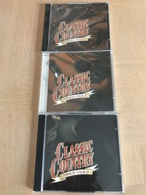 Classic Country 3 CDs 1950 - 1969 for Sale in Davenport, FL