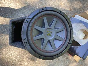 """Kicker CVR 10"""" base tube for Sale in Boston, MA"""