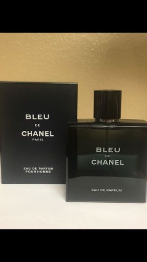 Chanel Bleu De Chanel Eau de parfum 100ml 3.4 oz for Sale in San Bernardino, CA