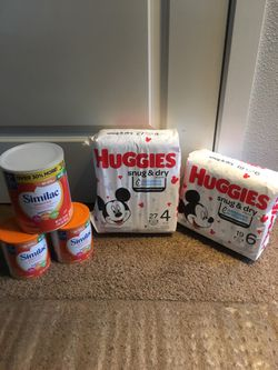 Huggies baby diapers/Similac Baby formula for Sale in Clackamas,  OR