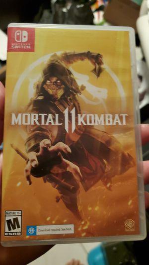 Mortal kombat 11 nintendo switch for Sale in Miami, FL