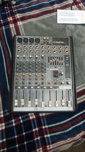 Profx8 mixer with fx for Sale in East Saint Louis, IL