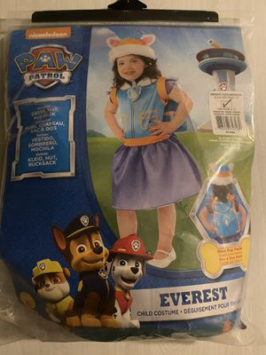 Paw patrol Everest costume for Sale in Upland, CA