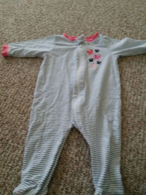 Gerber 3-6 month zip up sleeper for Sale in Fountain, CO