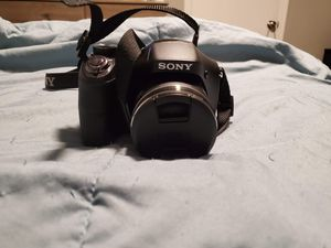 Sony DSC-H300 20.1 Megapixel digital camera black for Sale in Phoenix, AZ