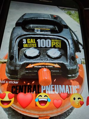 air compressor for sale portable for Sale in Kissimmee, FL