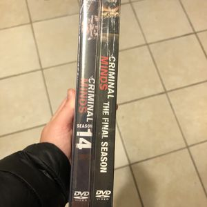 Criminal Minds Season 14 & 15 DVDs (BRAND NEW unopened) for Sale in Chicago Ridge, IL