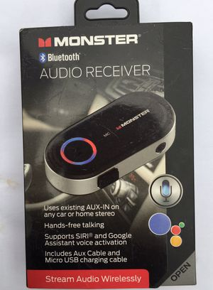 Monster Audio Receiver for Sale in Hickory, NC