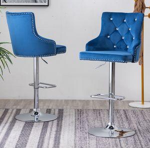 🔥New! Upscale velvet BLING bar stools for Sale in Escondido, CA
