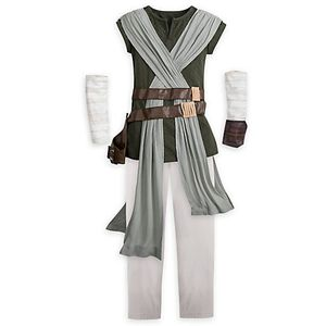 Star Wars Disney Store Rey Kids Halloween Costume clothes original for Sale in Orland Park, IL