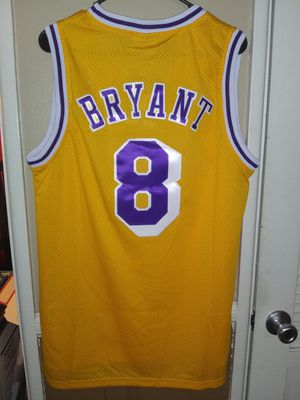 New!!! Mens Medium Kobe Bryant Los Angeles Lakers Jersey New Stitched $50. Ships +$3. Pick up in West Covina for Sale in West Covina, CA