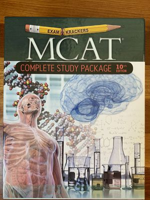 MCAT Prep ExamKrackers 10th Ed for Sale in San Francisco, CA