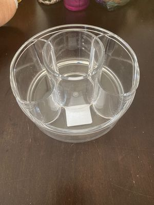 Makeup brush clear organizer for Sale in Santa Clarita, CA