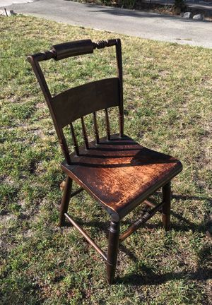 Antique wooden chair for Sale in Pasadena, CA