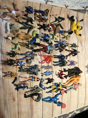 vintage action figures lot and more Information only in pictures for Sale in Los Angeles, CA