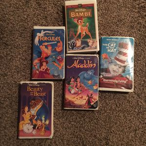 DISNEY VHS Movies for Sale in San Antonio, TX