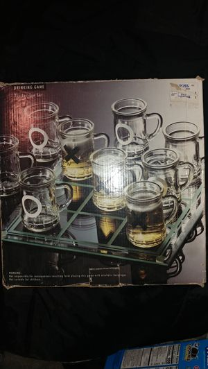 Tic tac toe drinking set for Sale in Aberdeen, WA
