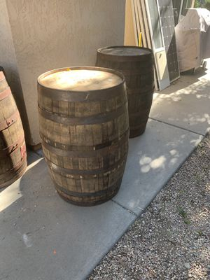 Whiskey barrel - authentic and true whiskey barrel / wine barrel for Sale in San Marcos, CA