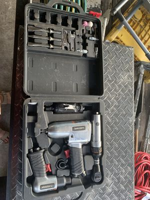 husky air impact wrench set for Sale in Tampa, FL