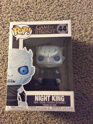 Night king from game of thrones funko pop for Sale in Encino, NM