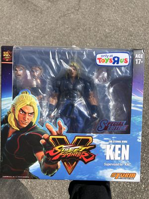 Storm Collectibles Street Fighter V Ken Masters Figure for Sale in Pasadena, CA