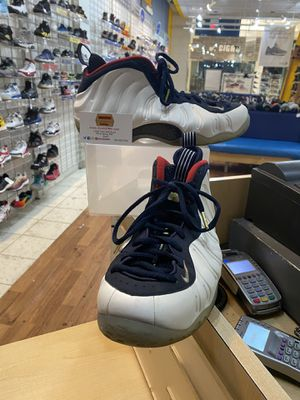 Nike Air Foamposite One PRM Olympic Size 12 for Sale in Silver Spring, MD