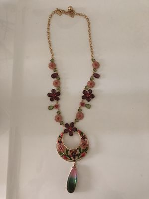 "Kate Spade ""in full bloom"" flower statement necklace gold for Sale in Irvine, CA"