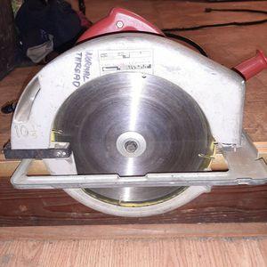 "Milwaukee 10 1/4"" Circular Saw for Sale in Cleveland, GA"