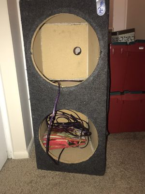 Two 12 box for subs for Sale in Cleveland, OH