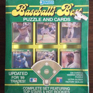 1989 DONRUSS BASEBALL'S BEST FACTORY SEALED SET (336) KEN GRIFFEY, JR., RANDY JOHNSON, JOHN SMOLTZ, CRAIG BIGGIO HOF RC YEAR for Sale in Pico Rivera, CA