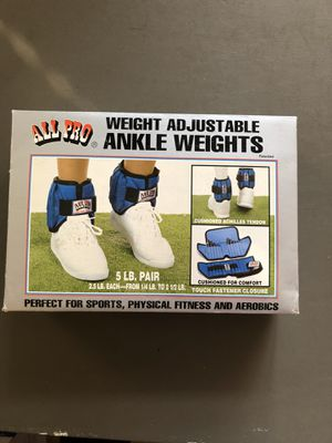 Ankle weights for Sale in Elizabeth, NJ