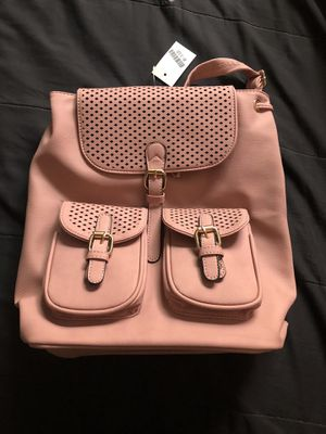 NEW!!! PINK LEATHER BACKPACK $20 for Sale in San Diego, CA