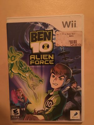 Nintendo Wii Ben 10 for Sale in Visalia, CA