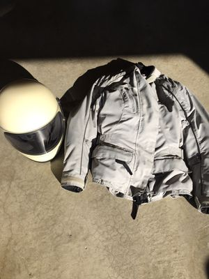 Motorcycle Helmet and Woman's Tour Master Jacket for Sale in Weldon Spring, MO