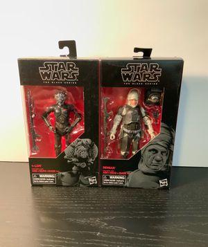 Star Wars black series dengar 4lom bounty hunter empire strikes back lot 40th figure toy for Sale in Lakeside, CA