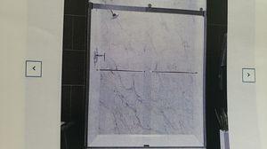 Standing Shower door by Kohler 56 to 59.6 wide and 74 in high in nickel for Sale in Queens, NY