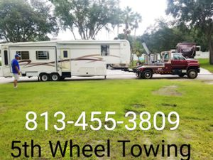 Travel trailer Camper RV box truck for Sale in Tampa, FL