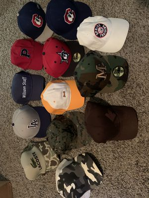 Hats (13) ALL for $45 for Sale in Cadwell, GA