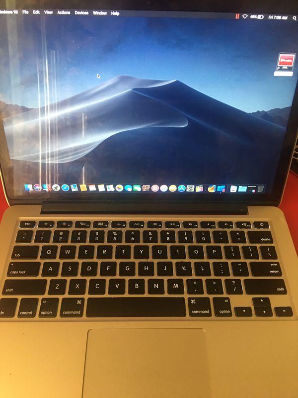 Retina MacBook Pro Mid 2014, 13 inch, 2.6 GHz Intel i5, 8gb of Ram, 128gb ssd WITH FINAL CUT PRO AND WINDOWS 10