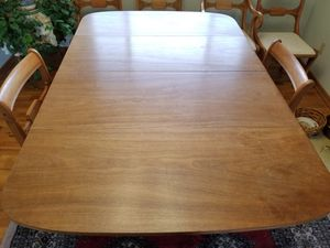 Antique Dining Room Table, 6 Chairs, & Sideboard for Sale in Olympia, WA