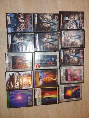 Star Trek Battlestar Galactica dvd movies for Sale in Boca Raton, FL