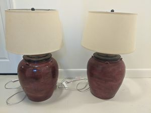 Pottery Barn Lamps for Sale in Concord, MA