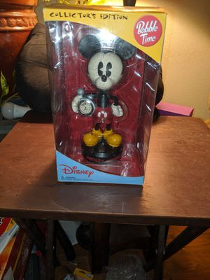 Disney Bobble Time Mickey Mouse Clock Collectors Edition new in box for Sale in White City, OR