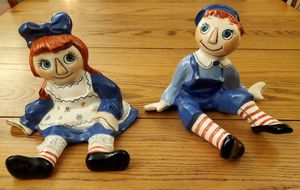 Porcelain raggedy Ann and Andy dolls for Sale in Glendale, AZ
