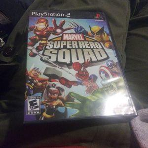 Marvel Super Hero Squad (Sony PlayStation 2, 2009) PS2 RARE for Sale in Covington, WA