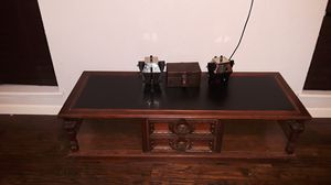 Wood center table/ Coffe Table for Sale in Grand Prairie, TX