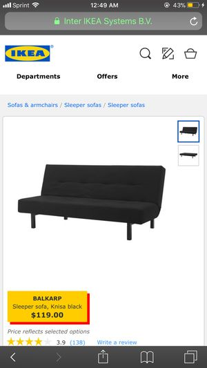Great quality futon! for Sale in Portland, OR