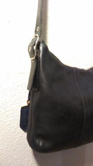 Black leather Coach bag for Sale in Arlington, TX