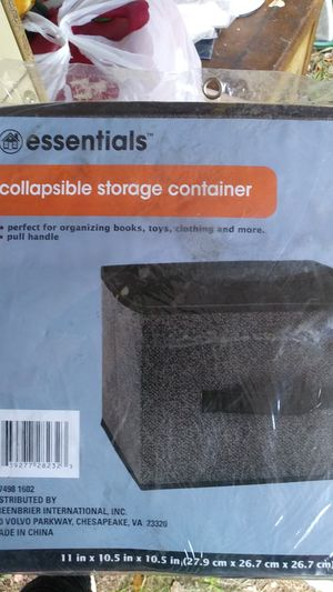 Collapsible storage Container for Sale in Atlanta, GA