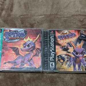 Spyro Ripto's Rage and Year of the Dragon (PS1) for Sale in San Francisco, CA